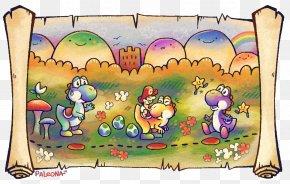 Yoshi's New Island - Super Mario World 2: Yoshi's Island Yoshi's Story Yoshi's New Island Yoshi's Woolly World Super Nintendo Entertainment System PNG