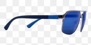 Sunglasses - Goggles Sunglasses Armani Polarized Light PNG
