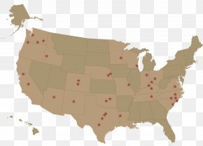 Map - United States Of America Vector Graphics Stock Photography Royalty-free Illustration PNG