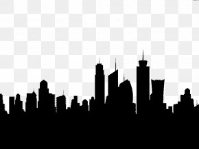 Los Angeles Image - New York City London Silhouette Skyline Clip Art PNG