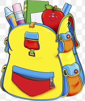 School Bag - School Supplies Clip Art PNG