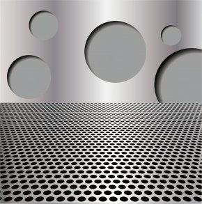 Science Fiction Metal Stripe - Stainless Steel Brushed Metal Metal Fabrication PNG