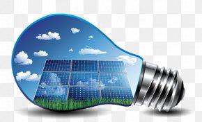 Solar Home - Solar Power Solar Energy Solar Panels Renewable Energy Photovoltaic System PNG