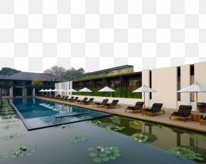 Thailand Is A Modern Hotel Full Of Water Lilies - Ping River Anantara Chiang Mai Resort Anantara Hua Hin Resort & Spa Hotel PNG