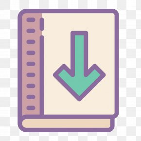 Book Icon - Textbook Icon Design Download PNG