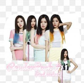 Velvet - Red Velvet Black Hair Long Hair Hair Coloring PNG