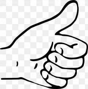Wooden Thumbs Up Sign - Thumb Signal Gesture Clip Art PNG