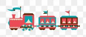 Train - Train Cartoon Track PNG