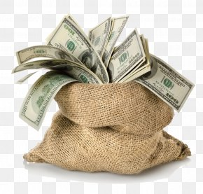 Dollar - Money Bag PNG