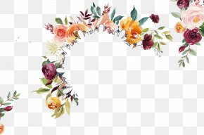 Flower - Creative Market Floral Design Flower Watercolor Painting Clip Art PNG