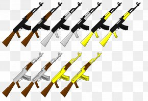 Ak 47 - Ranged Weapon Tool Technology PNG