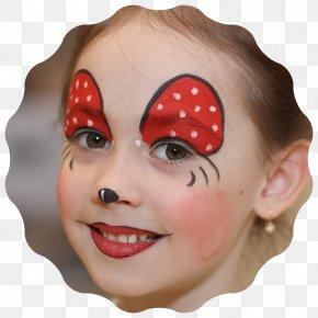 Face Painting - Cheek Chin Eyebrow Forehead Eyelash PNG