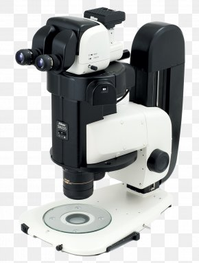 Microscope - Stereo Microscope Nikon Zoom Lens Optics PNG