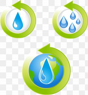 Water Circulation Water Conservation Vector Material PNG