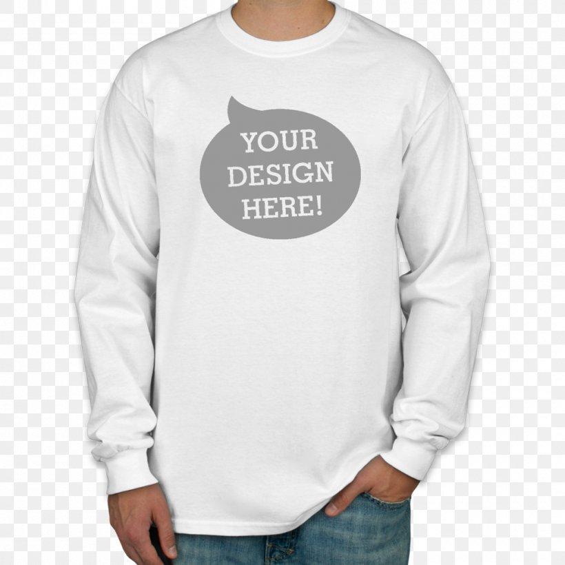 Long-sleeved T-shirt Hoodie, PNG, 1000x1000px, Tshirt, Clothing, Custom Ink, Gildan Activewear, Hood Download Free