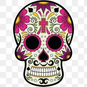 Skull - Calavera Mexico Mexican Cuisine Skull And Crossbones PNG