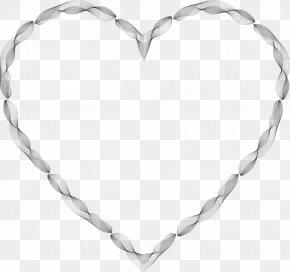 Line Art - Heart Line Art Clip Art PNG