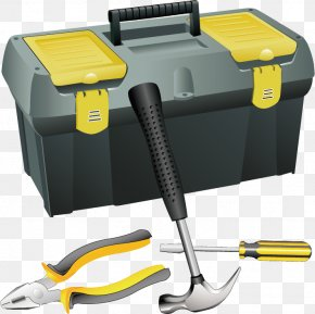 Hardware Tools And Toolboxes - Toolbox Clip Art PNG