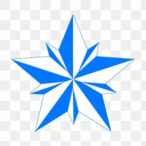 Five Pointed Star Shining - Five-pointed Star Clip Art PNG