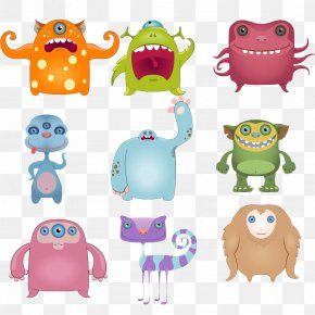 Funny Monster Cute Creative - Monster Clip Art PNG