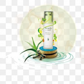 Aloe Vera Skin Care Creative - Cosmetics Advertising Skin Care PNG