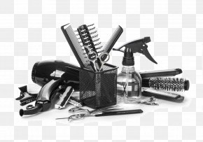 Beauty Tools - Barber Comb Hairdresser Hairstyling Tool Hairstyle PNG