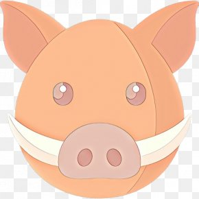 Mouth Suidae - Domestic Pig Cartoon Nose Snout Clip Art PNG