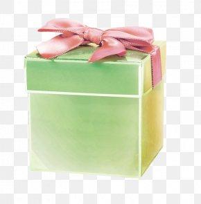 Green Gift Box - Decorative Box Gift PNG