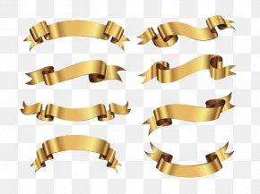Ribbon - Ribbon Paper Logo Metal PNG