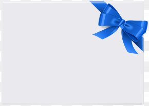 Blue Ribbon - Red With Ribbon Clip Art PNG