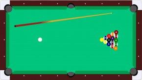 Fashion Billiards - Billiard Table Pool Billiards Clip Art PNG