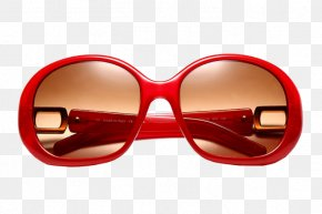 Red Reflective Sunglasses - Sunglasses Red Goggles PNG