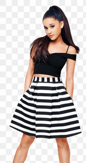 Ariana Grande - Ariana Grande Skirt Lipsy London Top Dress PNG