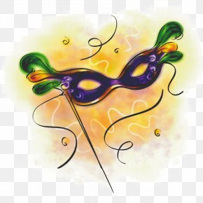 Mask - Mardi Gras In New Orleans Mask Masquerade Ball Clip Art PNG