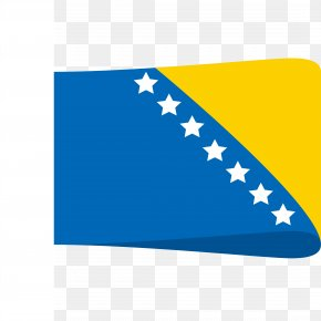 Design Of Foreign Flag - Flag Of Bosnia And Herzegovina National Flag Emoji PNG