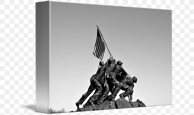 Marine Corps War Memorial Raising The Flag On Iwo Jima Battle Of Iwo Jima Mount Suribachi Black And White, PNG, 650x487px, Marine Corps War Memorial, Battle Of Iwo Jima, Black And White, Hospital Corpsman, Iwo Jima Download Free