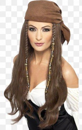Women Hair - Wig Bandana Costume Party Clothing PNG