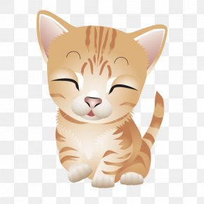 Vector Cute Kittens - Cat Kitten Drawing Cartoon PNG