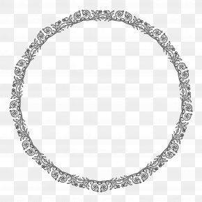 Circle Floral Border - Sensor PNG