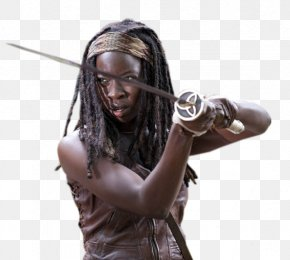 Season 3 Danai Gurira Michonne Rick GrimesDead - The Walking Dead PNG