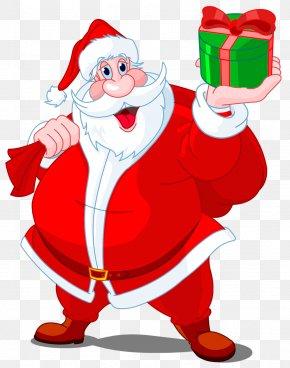 Santa Claus - Mrs. Claus Santa Claus Christmas Gift Clip Art PNG