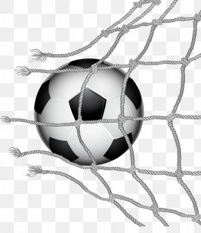 Soccer Ball Crashed Through The Net - The UEFA European Football Championship FIFA World Cup PNG