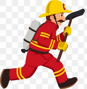 Cartoon Fireman - Firefighter Cartoon Royalty-free Illustration PNG