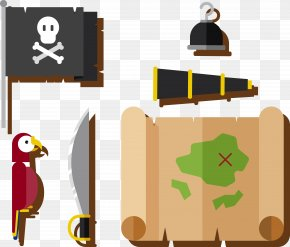 Pirate Map Vector - Paper Piracy PNG