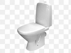 Toilet - Toilet Seat Flush Toilet Plumbing Fixture PNG