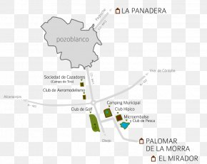 Map - Pozoblanco Cortijo Palomar De La Morra Map Leisure Recreation PNG