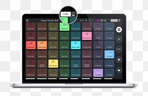 Drum Pads Computer Software MacOS Cross/CrossDJAndroid - Remixlive PNG