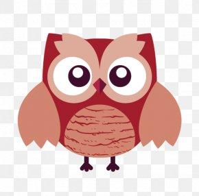 Owl - Owl Bird Flat Design PNG