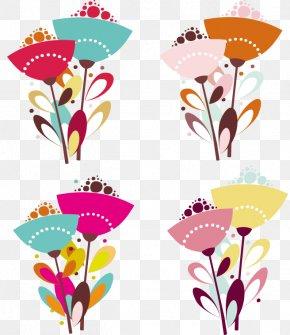 Vector Flower - Paper Euclidean Vector PNG