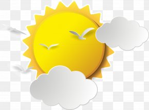 Cartoon Sun Material - Cartoon Drawing PNG